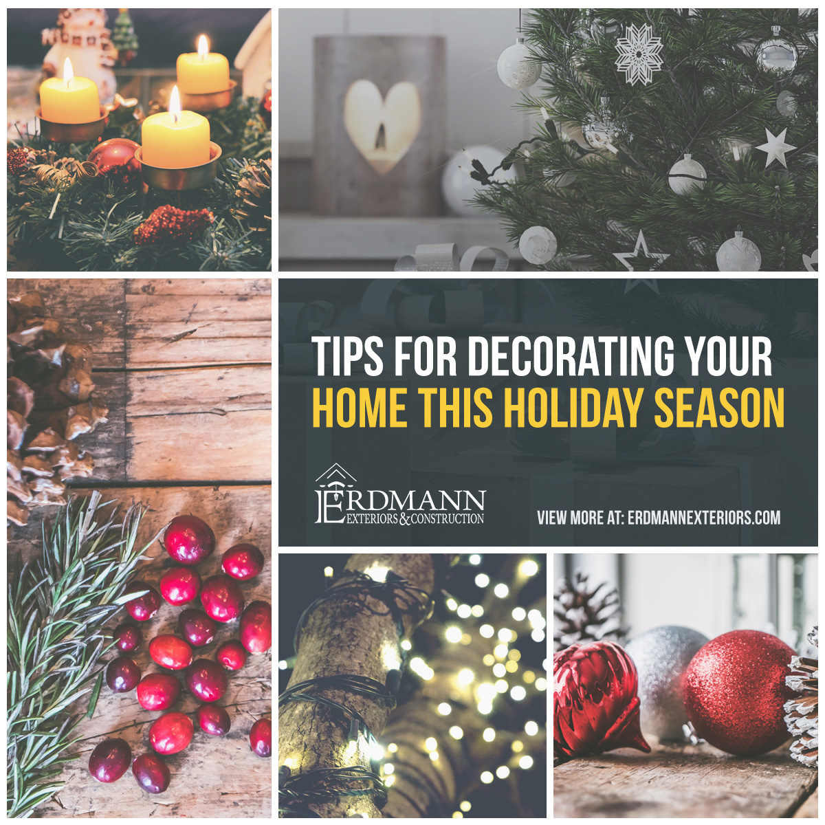 Tips For Decorating Your Home Simply And Safely This Holiday Season