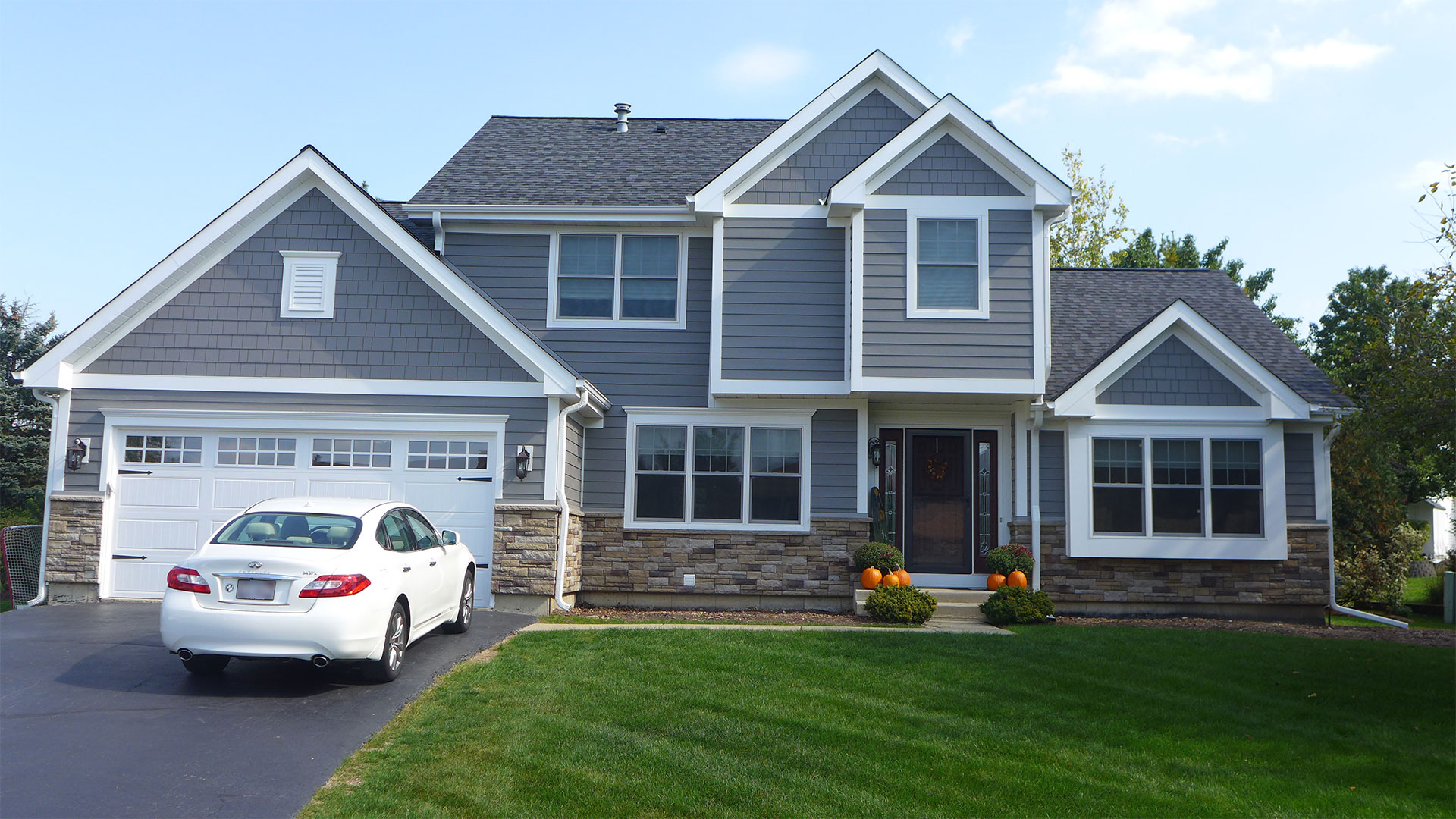 Siding Combinations For Brick And Stone Houses Erdmann Exteriors