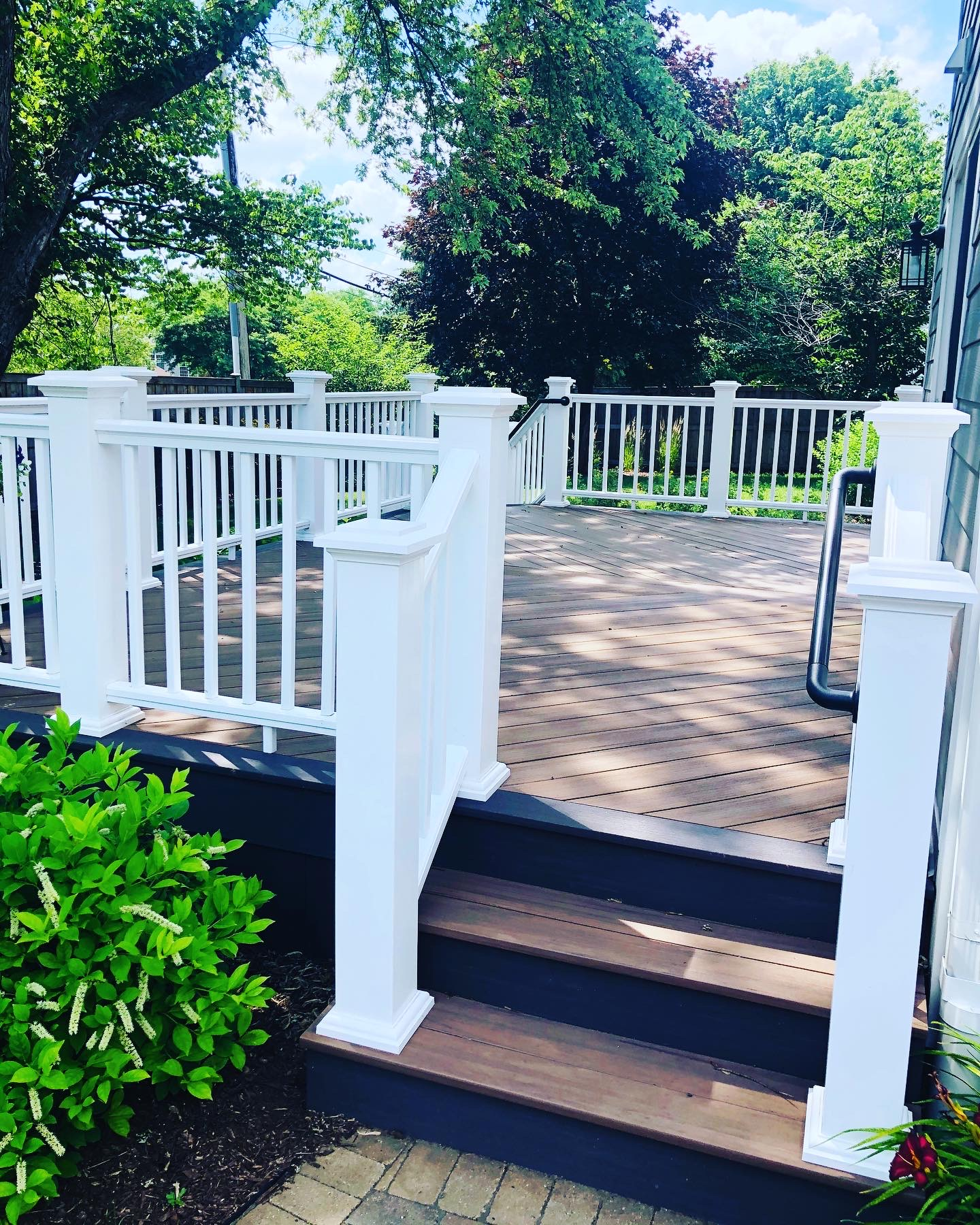 New TimberTech Deck & Railings
