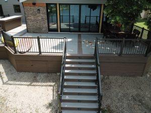 Timbertech Deck in Arlington Heights