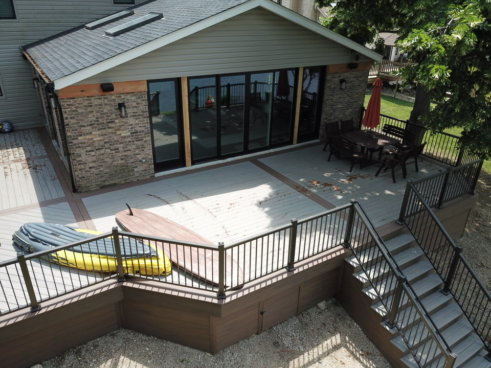 Timbertech Deck in Arlington Heights