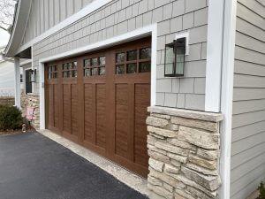 New James Hardie Siding & Garage Door